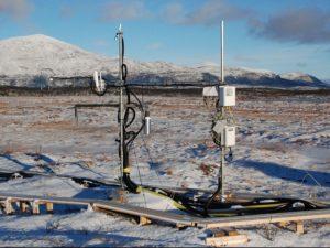 Flux system at Abisko-Stordalen in spring