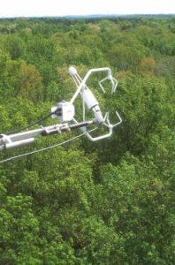 Flux sensor at Harwood Forest