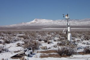 Nevada Desert Mojave Global Change Facility flux tower